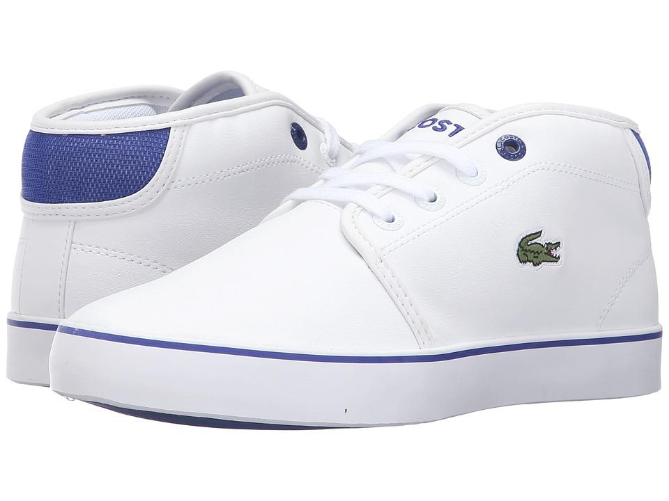 Lacoste Kids - Ampthill 316 2 SPJ (Little Kid/Big Kid) (White) Kid's Shoes