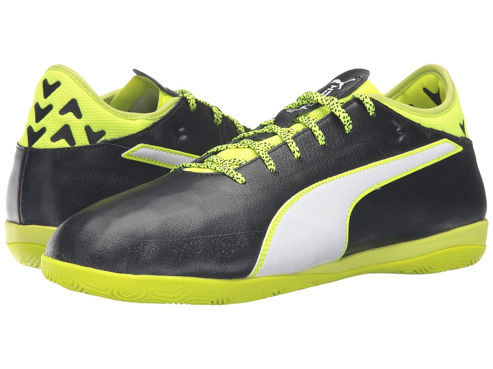 PUMA - evoTOUCH 2 IT (Black/White/Safety Yellow) Men's Shoes