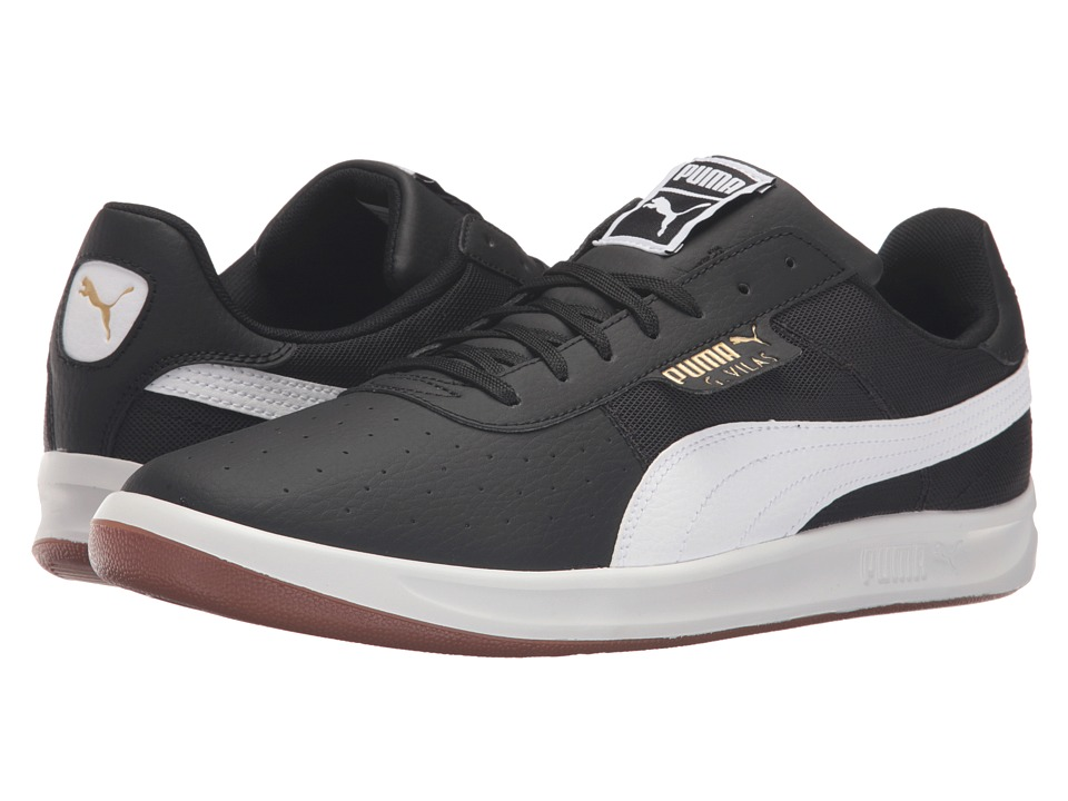 PUMA - G. Vilas 2 Core (Puma Black/Puma White) Men's Tennis Shoes