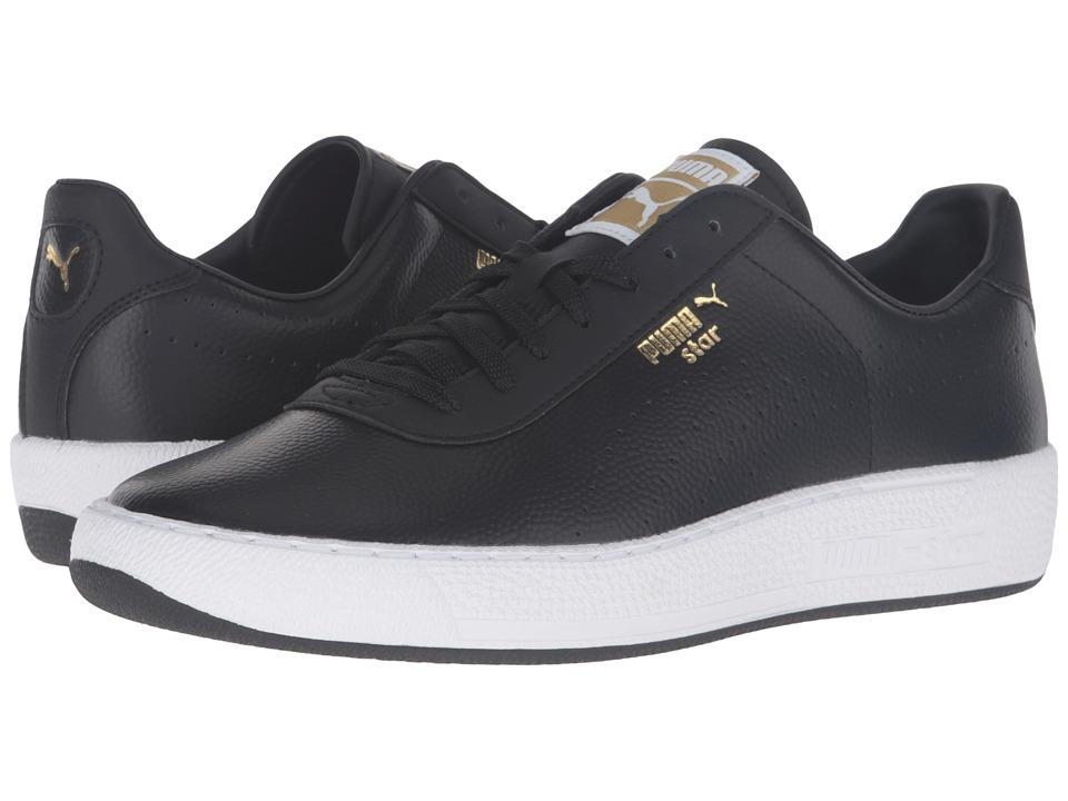 PUMA - Star L Core (Puma Black/Puma Black) Men's Tennis Shoes