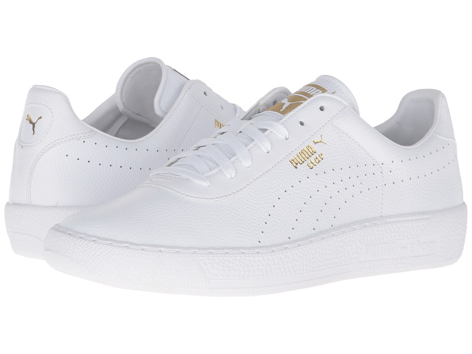 PUMA - Star L Core (Puma White/Puma White) Men's Tennis Shoes