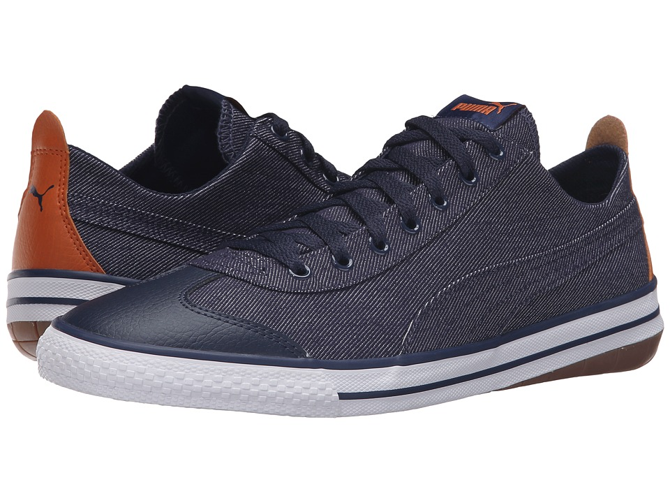 PUMA - 917 Fun Denim (Peacoat/Peacoat) Men's Shoes