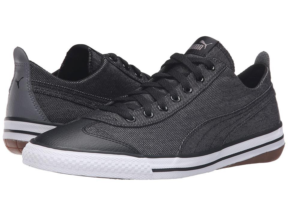 PUMA - 917 Fun Denim (Puma Black/Puma Black) Men's Shoes