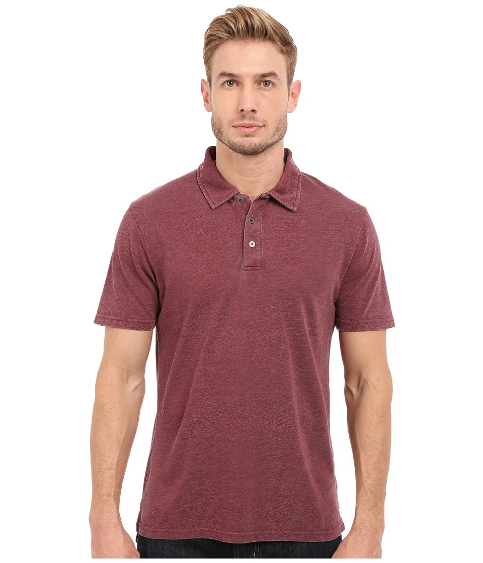 Threads 4 Thought - The Blake Polo (Oxblood) Men's Clothing