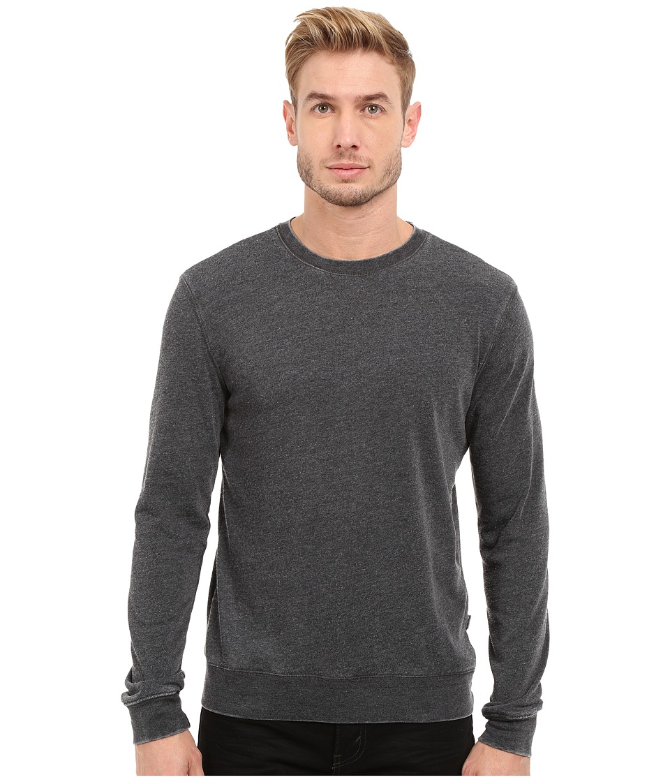 Threads 4 Thought - The Andrew Burnout Crew (Black) Men's Sweatshirt