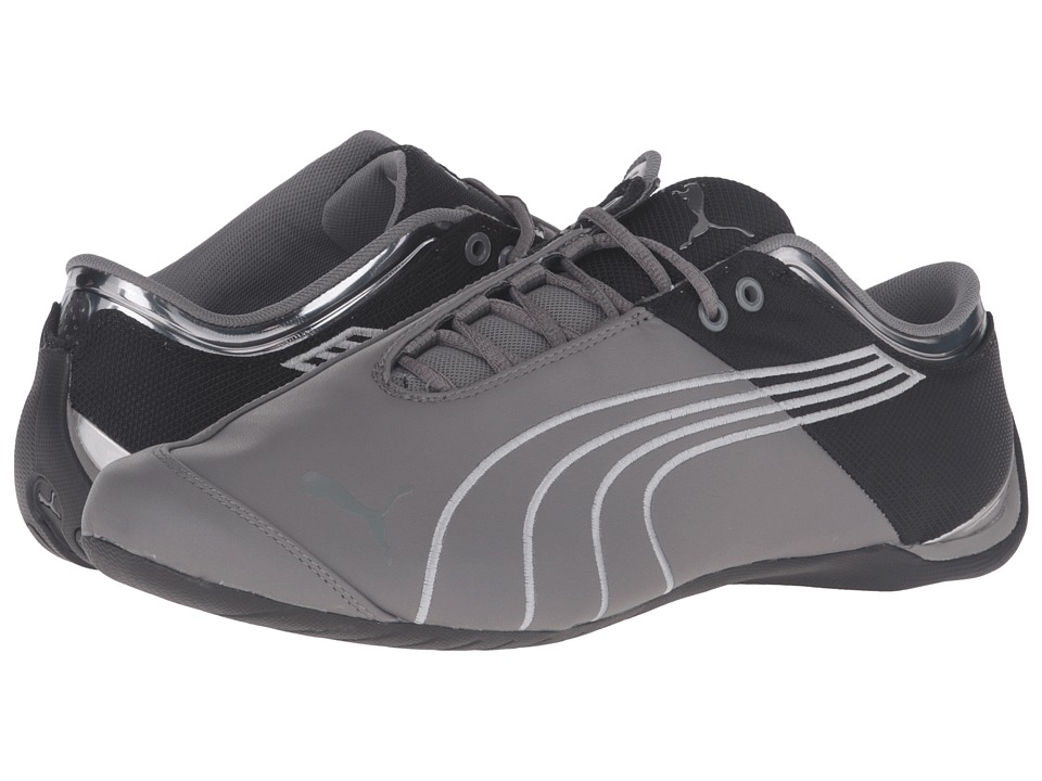 PUMA - Future Cat M1 Core (Steel Gray/Puma Black) Men's Shoes