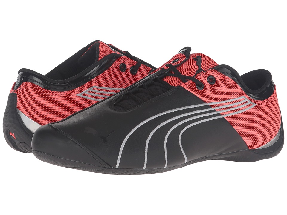 PUMA - Future Cat M1 Core (Puma Black/Red Blast) Men's Shoes
