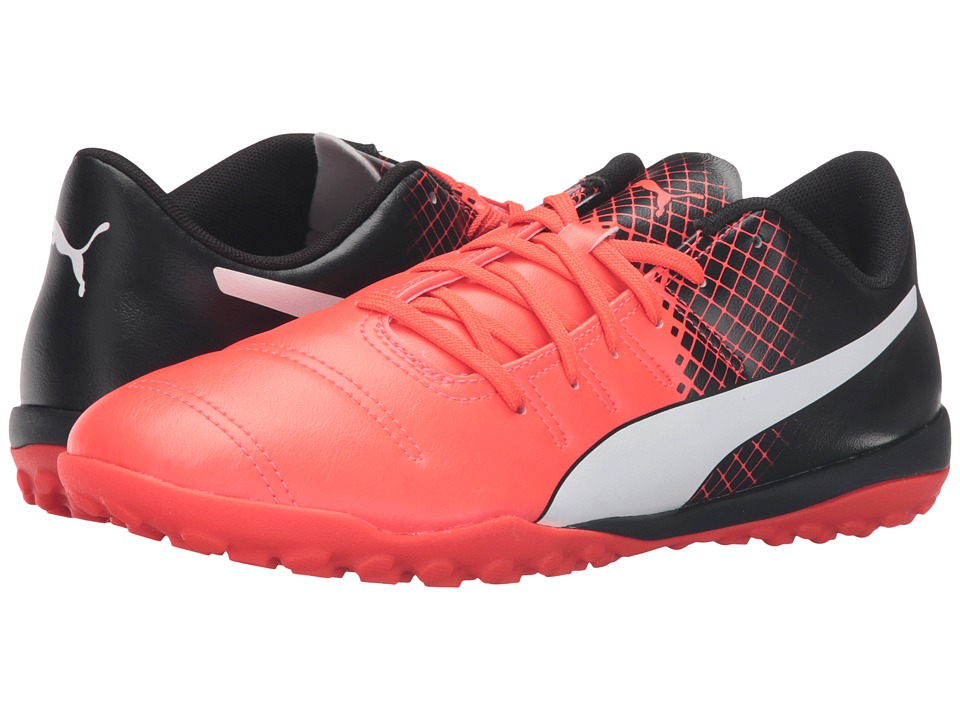 PUMA - evoPOWER 4.3 TT (Red Blast/Puma White/Puma Black) Men's Shoes