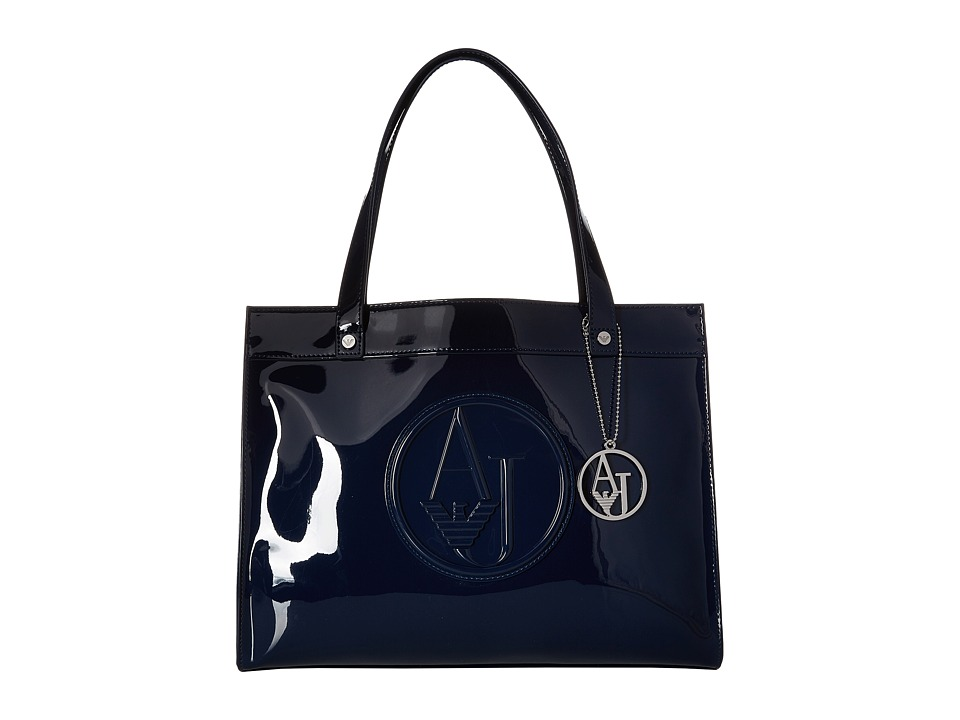 Armani Jeans - Small Shopping Bag (Navy) Bags