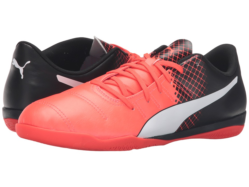 PUMA - evoPOWER 4.3 IT (Red Blast/Puma White/Puma Black) Men's Shoes