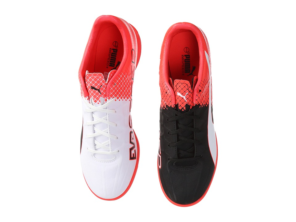 PUMA - Evospeed 4.5 Tricks IT (Puma Black/Puma White/Red Blast) Men's Shoes