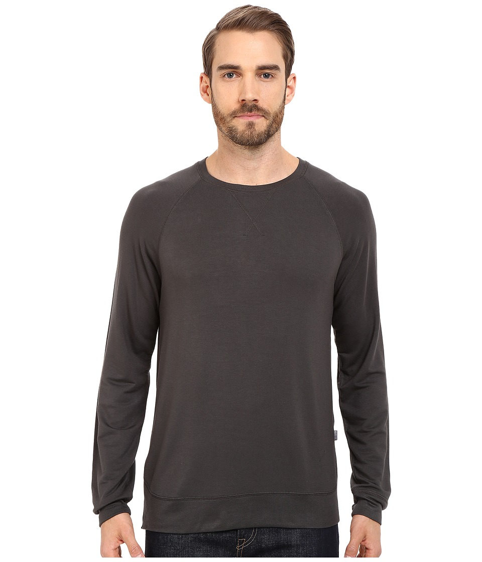 Threads 4 Thought - Baseline Raglan Modal Crew (Raven) Men's Clothing