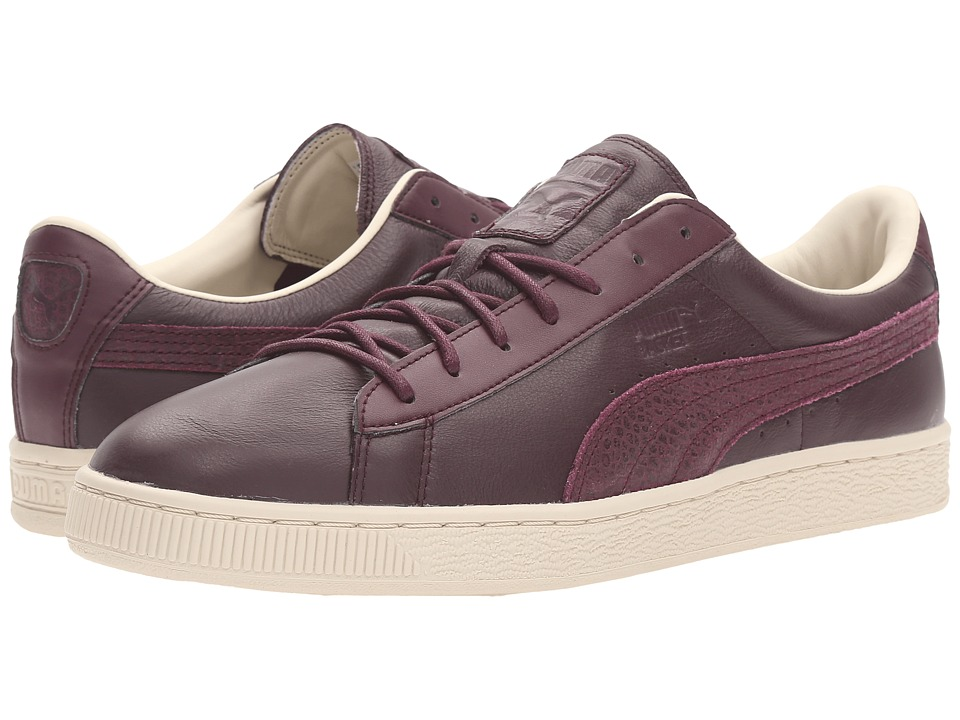 PUMA - Basket Classic Citi (Winetasting) Men's Basketball Shoes