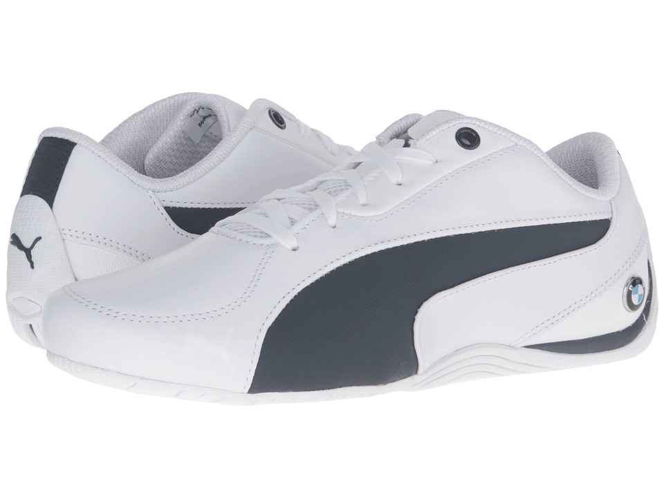PUMA - BMW Drift Cat 5 (Puma White/Team Blue) Men's Shoes