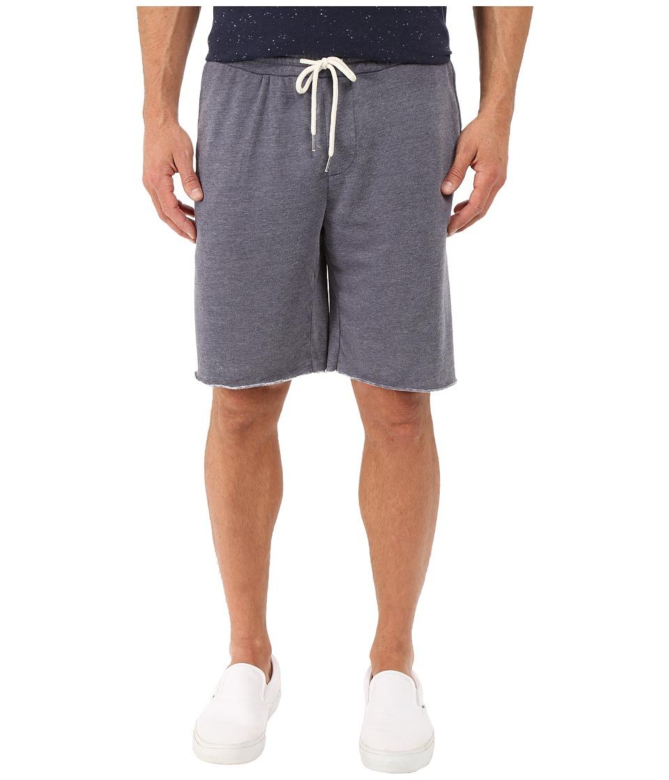 Threads 4 Thought - Burnout Wash Shorts (China Blue) Men's Shorts