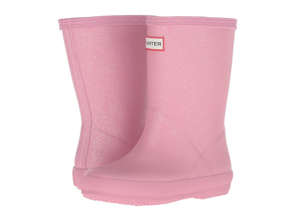 Hunter Kids - Orginal Glitter Finish (Toddler) (Fondant Pink) Girls Shoes