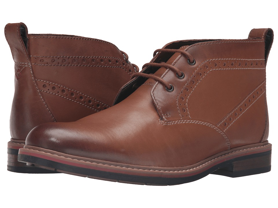 Bostonian - Melshire Top (Tan Leather) Men's Shoes