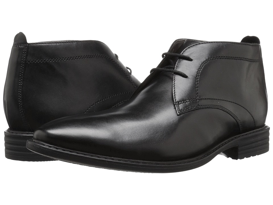 Bostonian Garvan Mid (Black Leather) Men