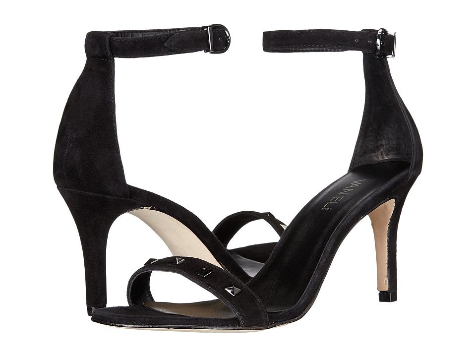 Vaneli - Tulla (Black Suede/Gunmetal) High Heels