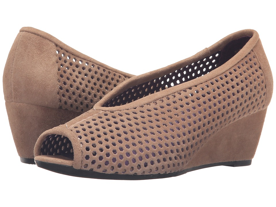 Vaneli - Warp (Truffle Suede) Women's Wedge Shoes