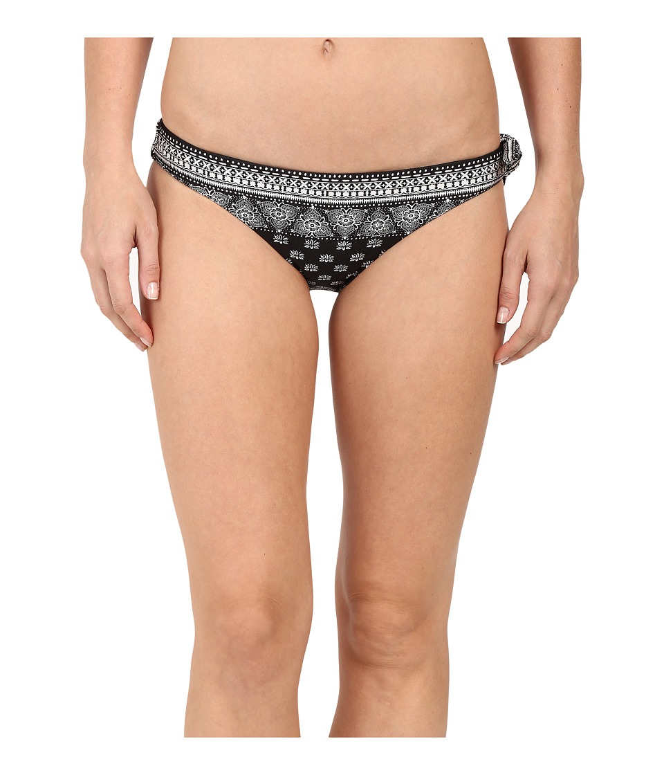 Amuse Society - Amalia Bandana Everyday Bottom (Black) Women's Swimwear