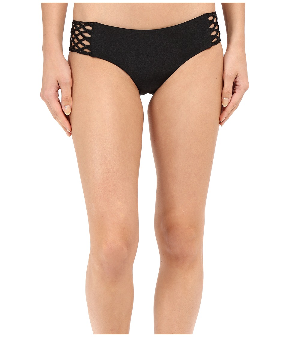 Amuse Society Ana Solid Boycut Bottom (Black) Women