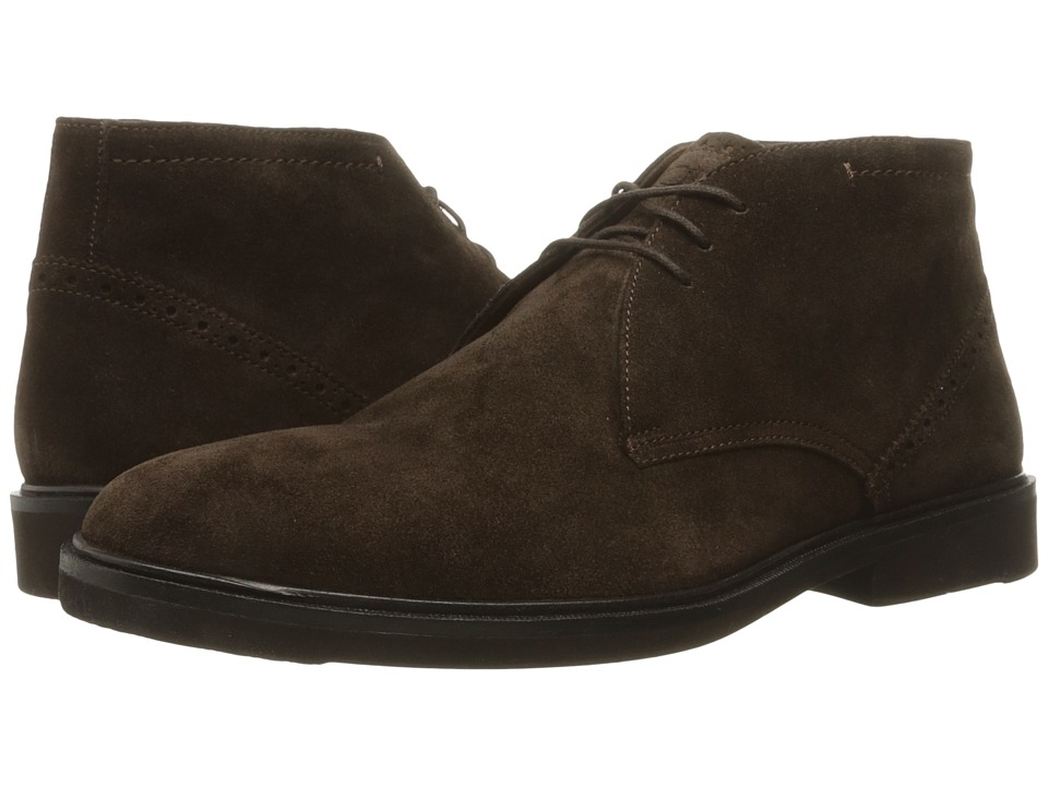 Florsheim - Hamilton Chukka Boot (Brown Suede) Men's Lace-up Boots