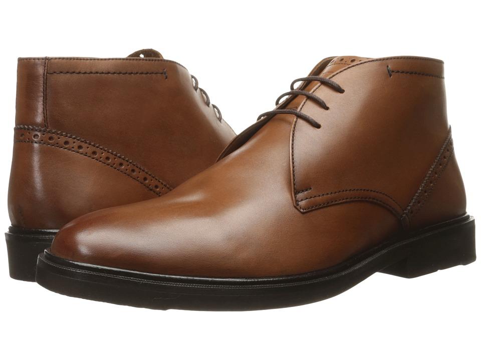 Florsheim Hamilton Chukka Boot (Cognac Smooth) Men