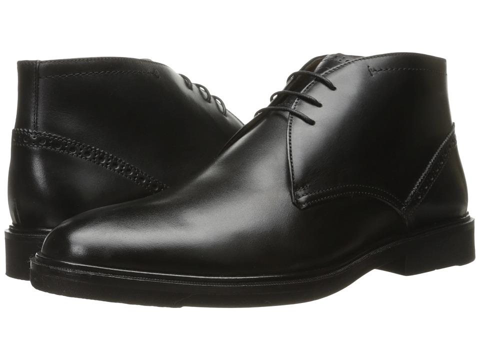 Florsheim - Hamilton Chukka Boot (Black Smooth) Men's Lace-up Boots