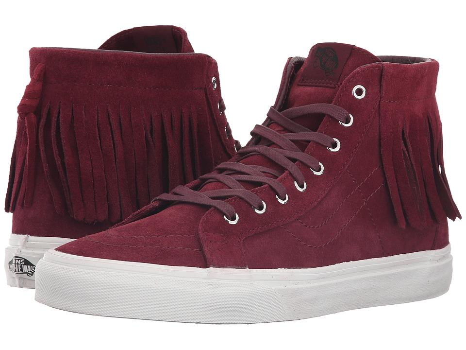 Vans - SK8-Hi Moc ((Suede) Port Royale/Blanc de Blanc) Skate Shoes