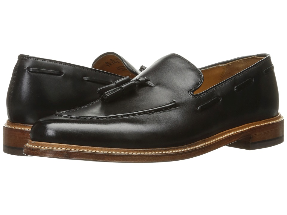 Florsheim - Heritage Tassel Slip-On (Black Smooth) Men's Slip on Shoes