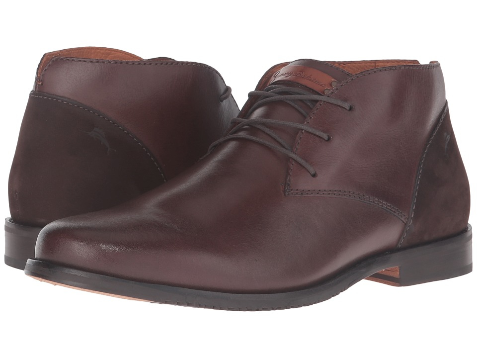 Tommy Bahama - Fane (Chocolate) Men's Lace Up Wing Tip Shoes