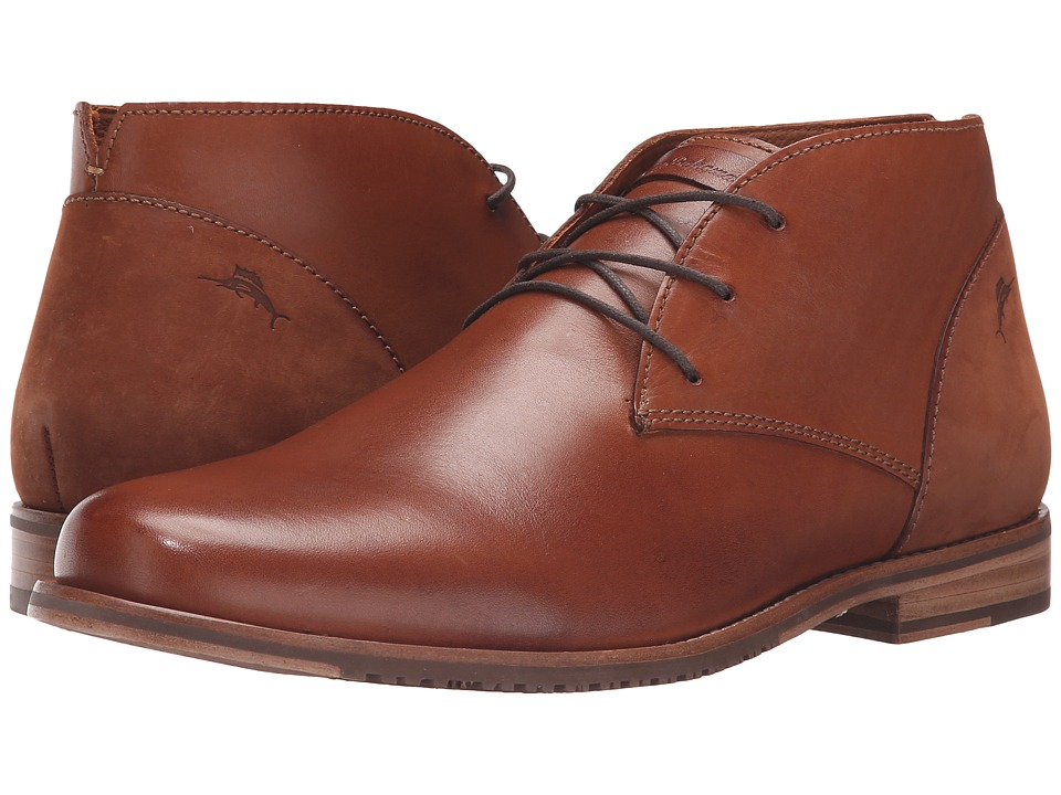 Tommy Bahama - Fane (Whiskey) Men's Lace Up Wing Tip Shoes