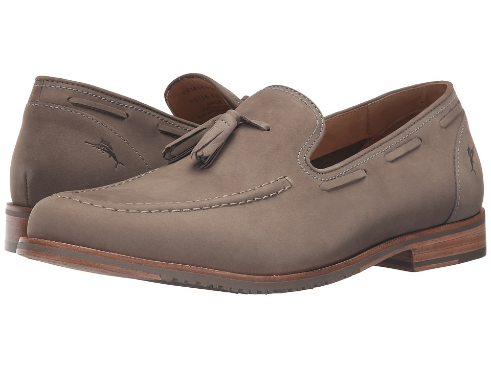 Tommy Bahama - Filip (Dark Grey) Men's Slip-on Dress Shoes