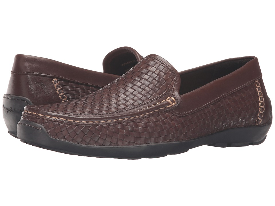 Tommy Bahama - Orson (Dark Brown) Men's Slip on Shoes