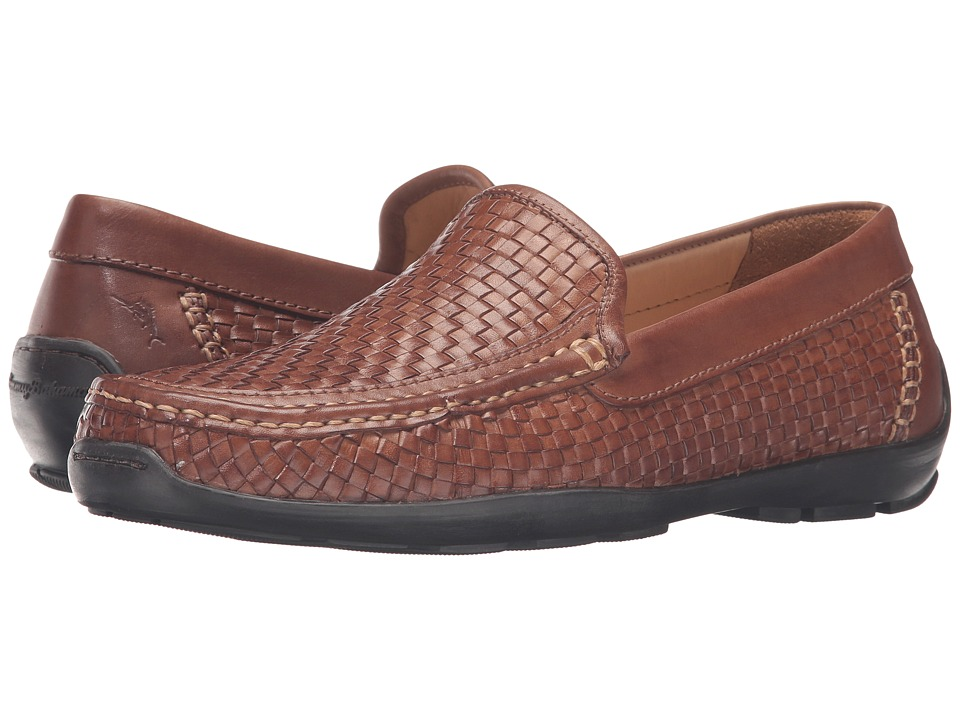Tommy Bahama - Orson (Dark Tan) Men's Slip on Shoes