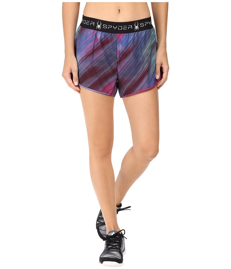 Spyder - Ruling 2-In-1 Shorts (Geo Rays Voila) Women's Shorts
