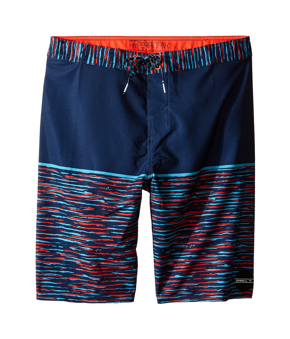 O'Neill Kids - Hyperfreak Streaming Boardshorts (Big Kids) (Navy) Boy's Swimwear