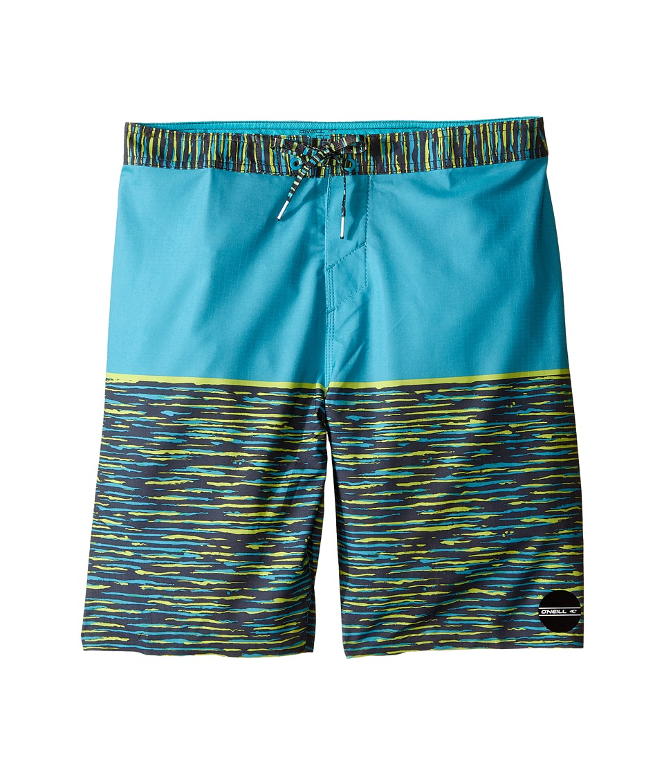 O'Neill Kids - Hyperfreak Streaming Boardshorts (Big Kids) (Turquoise) Boy's Swimwear
