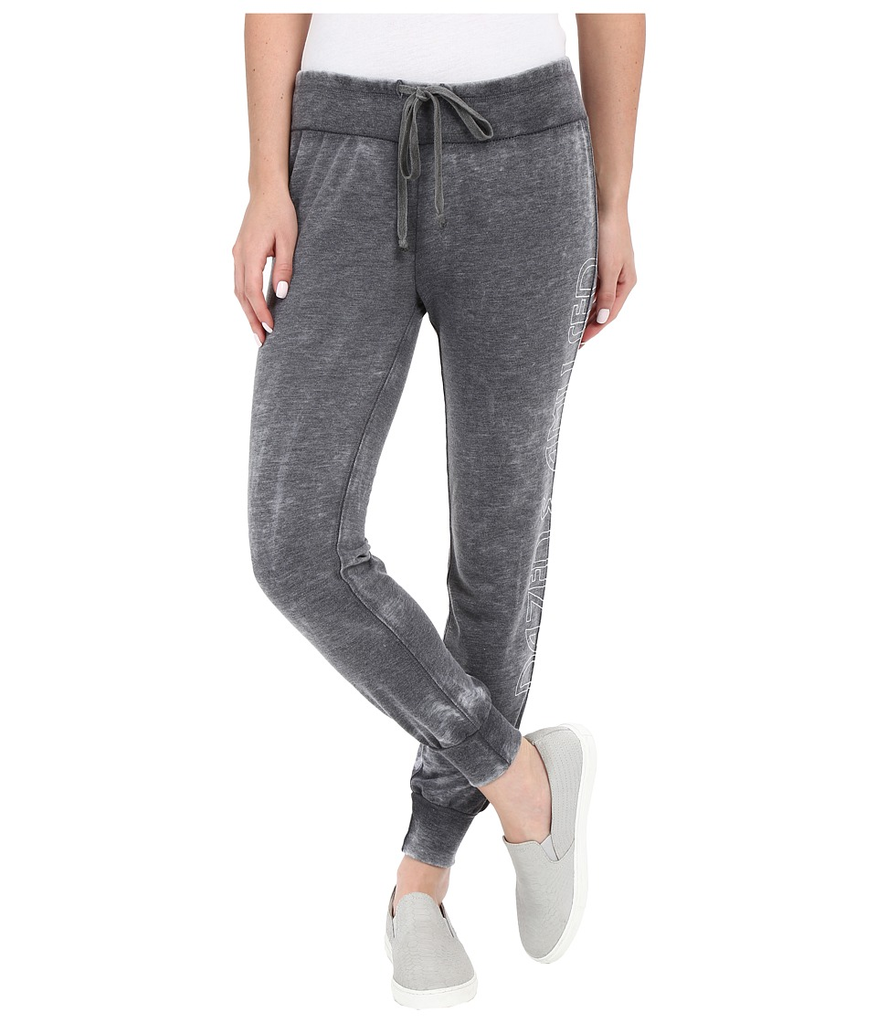 Amuse Society - Dazed Fleece Pants (Charcoal) Women's Casual Pants