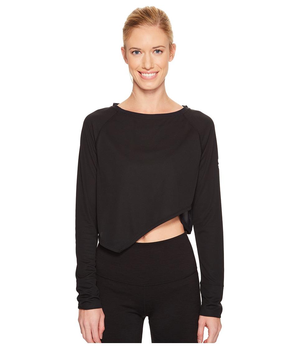Spyder - Ayr Long Sleeve Tee (Black) Women's T Shirt