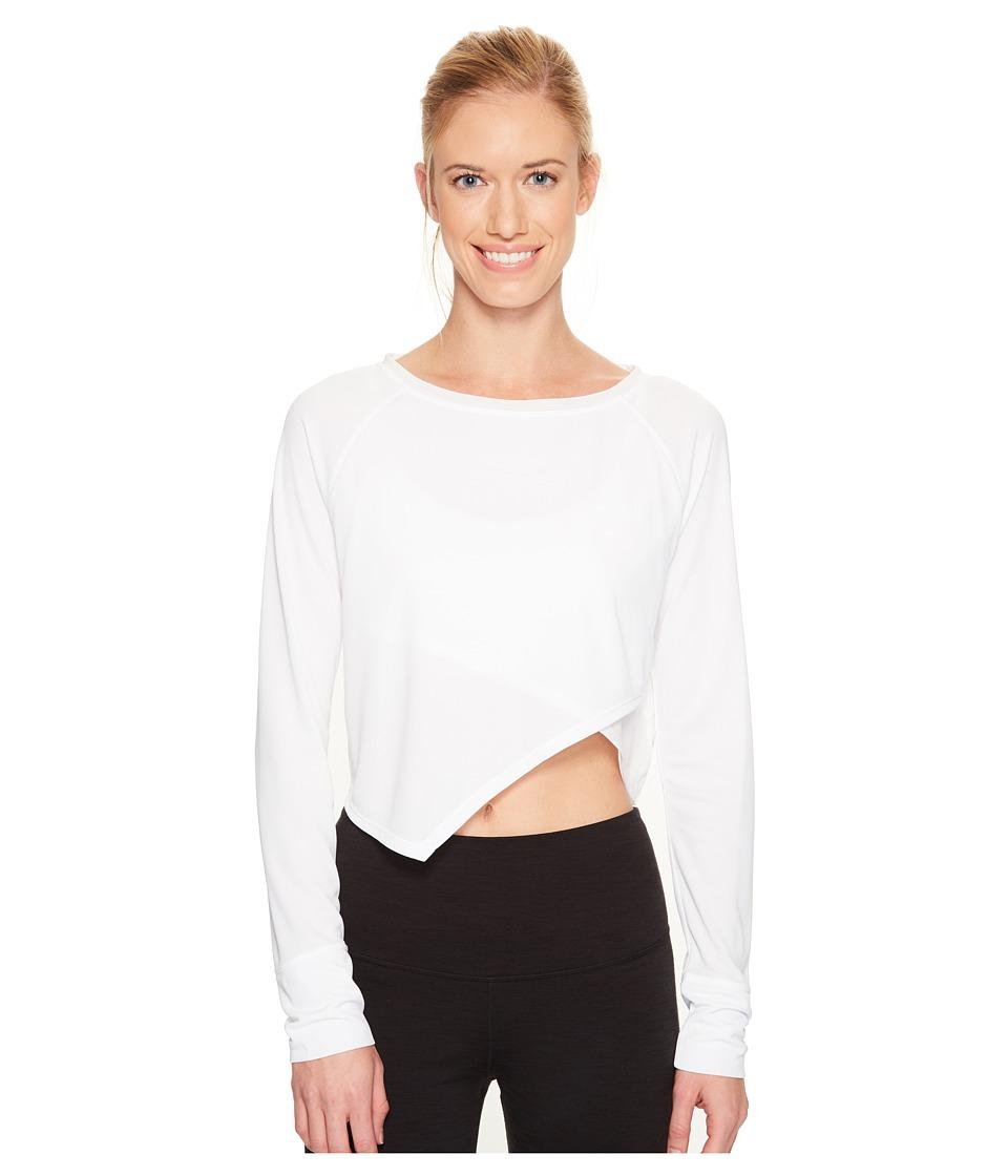 Spyder - Ayr Long Sleeve Tee (White) Women's T Shirt