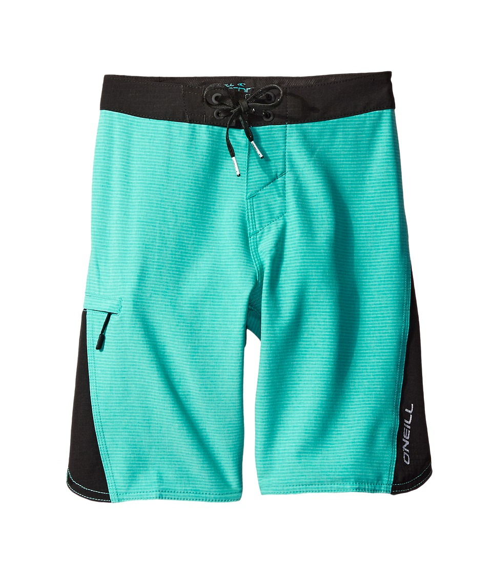 O'Neill Kids - Sneakyfreak Boardshorts (Big Kids) (Aqua) Boy's Swimwear