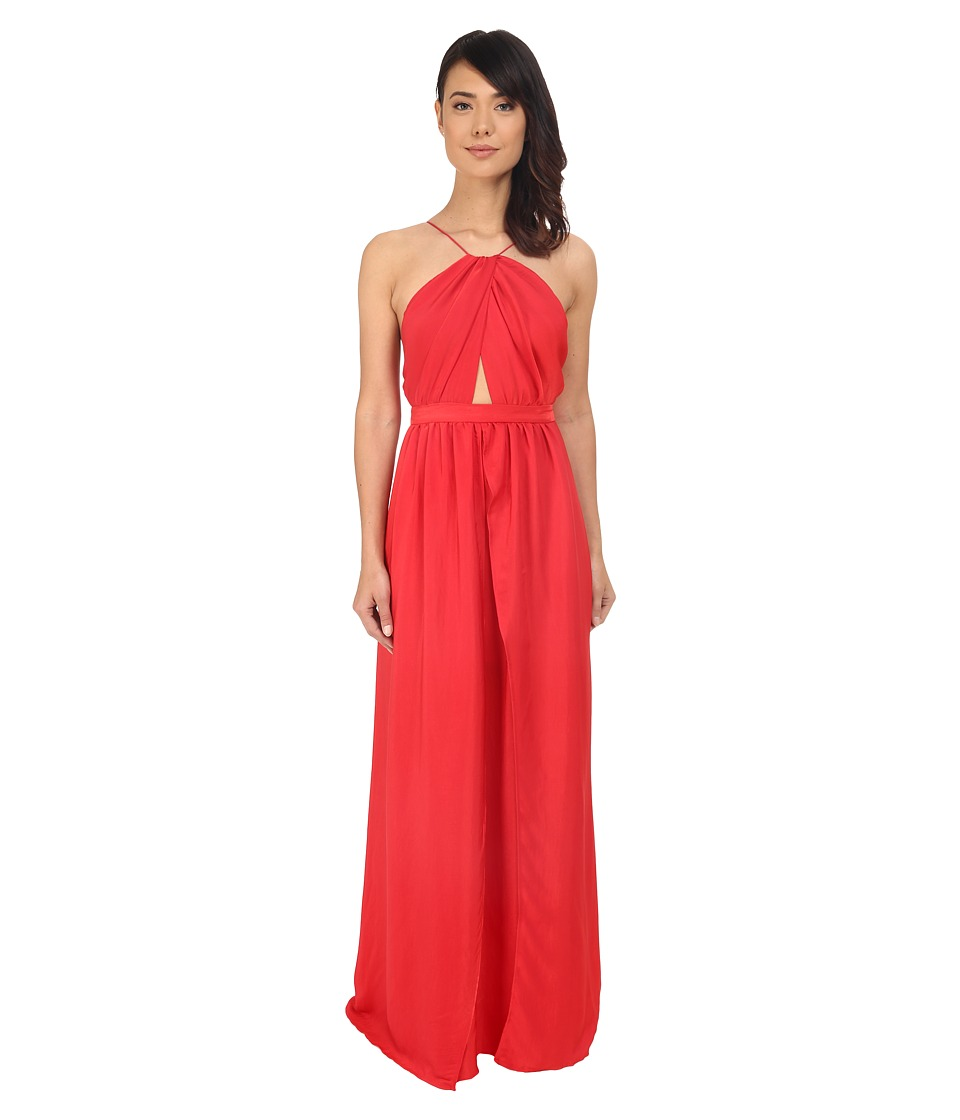 The Jetset Diaries - Lotus Maxi Dress (Coral) Women's Dress