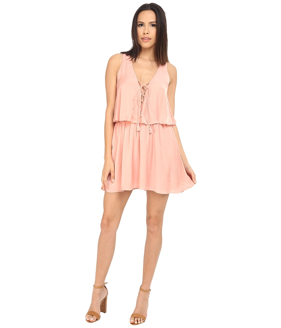 The Jetset Diaries - Lotus Mini Dress (Blush) Women's Dress