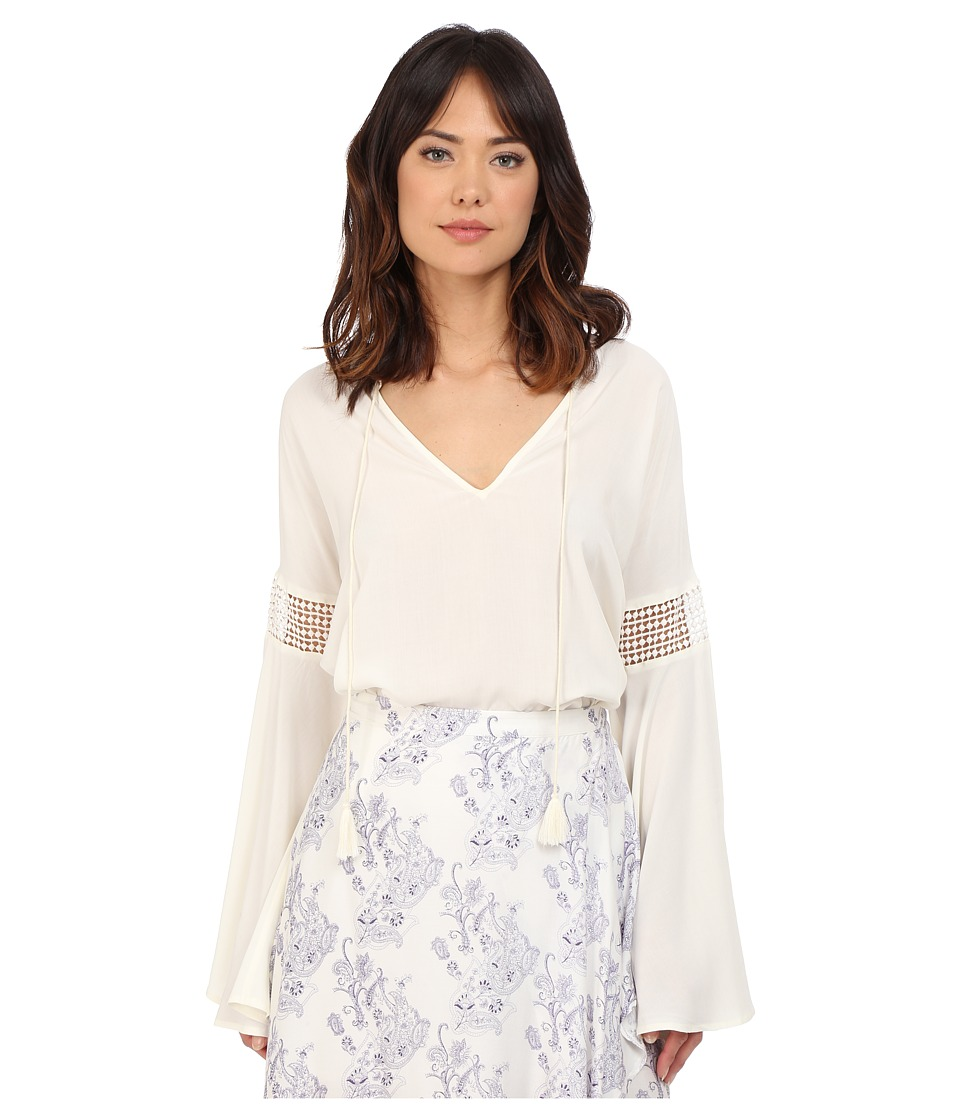The Jetset Diaries - Hammock Blouse (Ivory) Women's Blouse