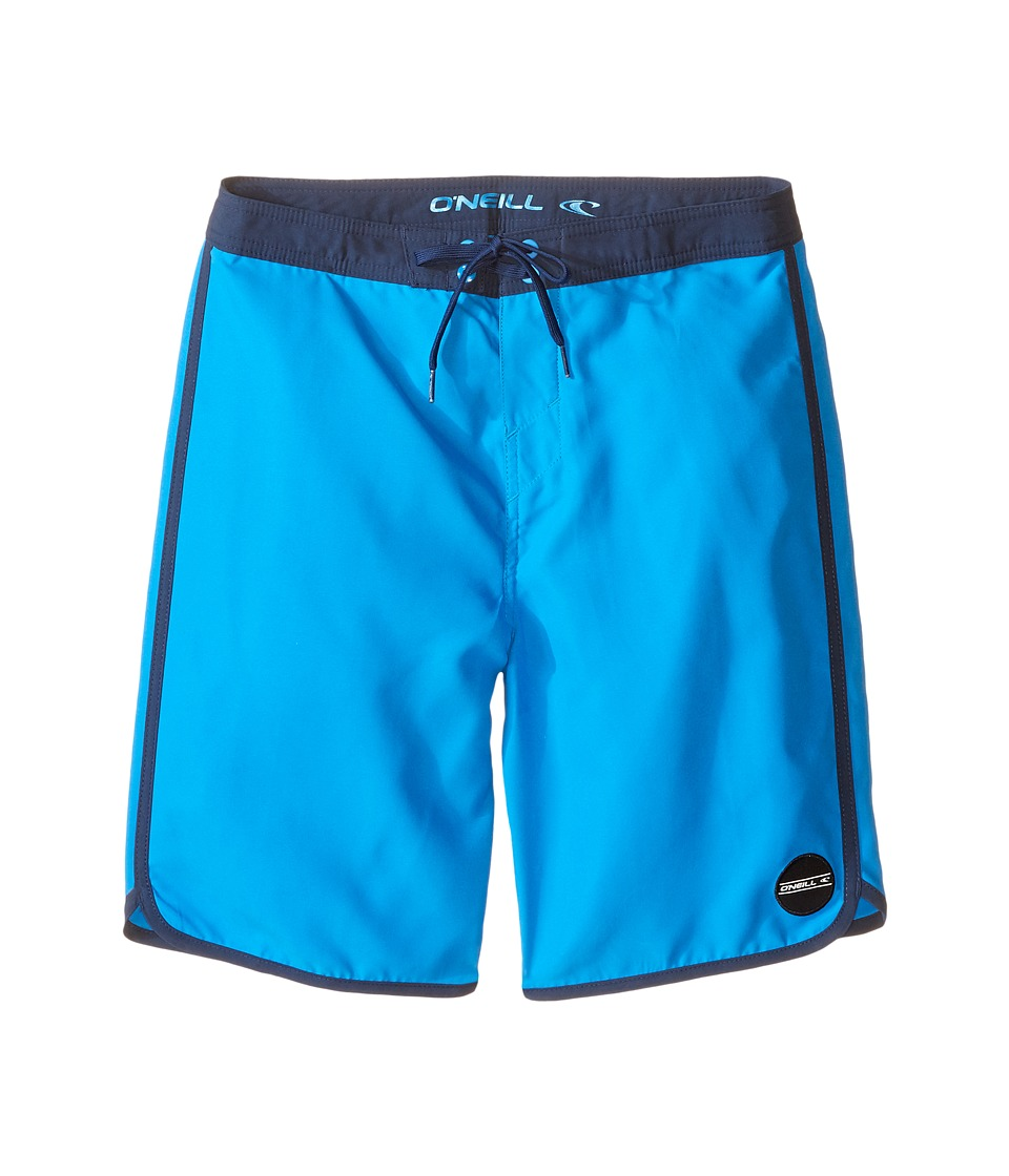 O'Neill Kids - Santa Cruz Scallop Boardshorts (Big Kids) (Bright Blue) Boy's Swimwear