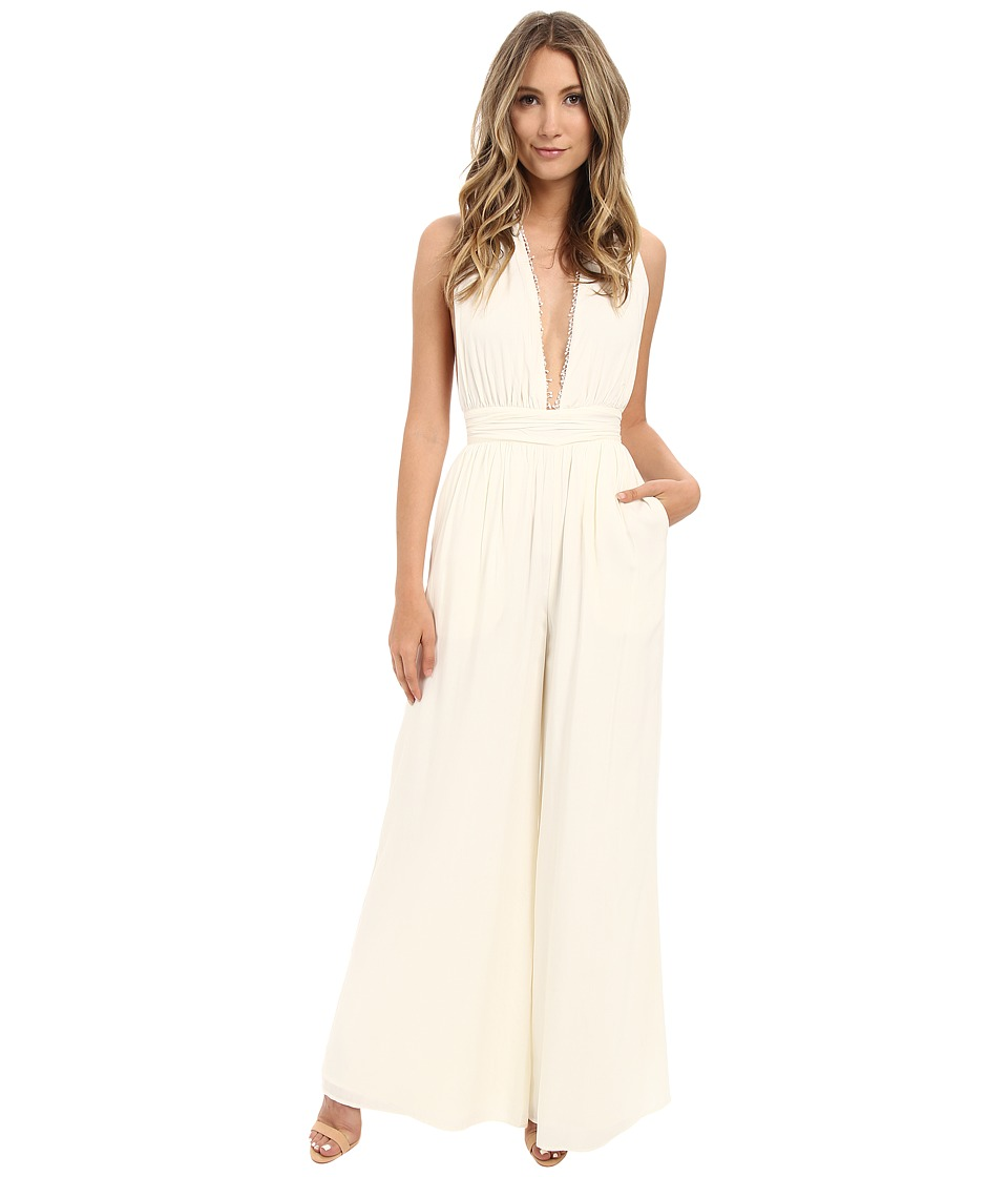 The Jetset Diaries - Hammock Jumpsuit (Ivory) Women's Jumpsuit & Rompers One Piece