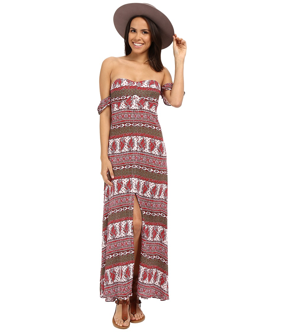 The Jetset Diaries - Tropical Paradise Maxi Dress (Tropical Paradise) Women's Dress