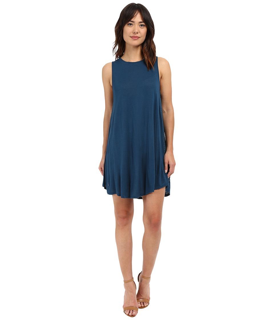 Amuse Society - Alexi Tank Dress (Indy Blue) Women's Dress